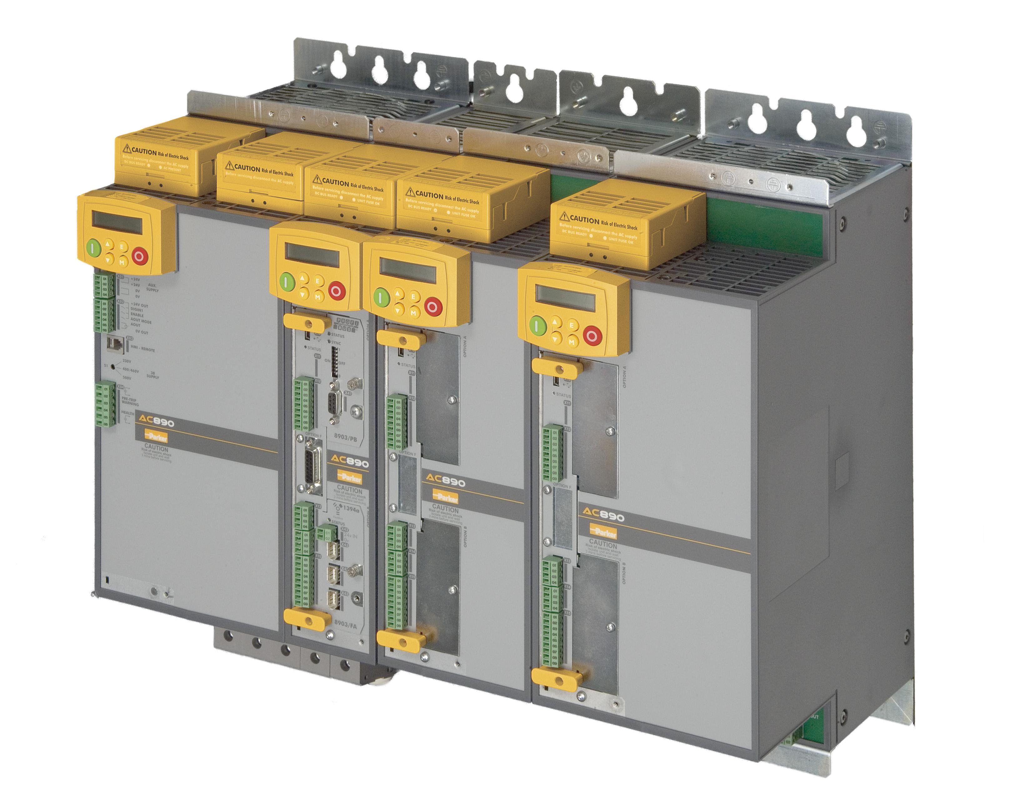 Parker AC890 rack